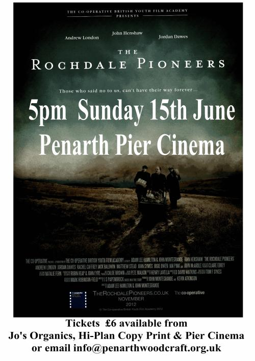 Penarth Woodcraft Folk proudly present a special screening of The Rochdale Pioneers